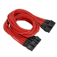 Thermaltake Individually Sleeved 20+4Pin ATX Cable - Red