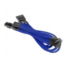 Thermaltake Individually Sleeved 4Pin Peripheral Cable - Blue