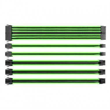 Thermaltake TtMod Sleeve Cable - Green/Black