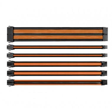 Thermaltake TtMod Sleeve Cable - Orange/Black