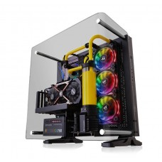Thermaltake Core P3 Curved Edition Tempered Glass Mid Tower Open Frame Case