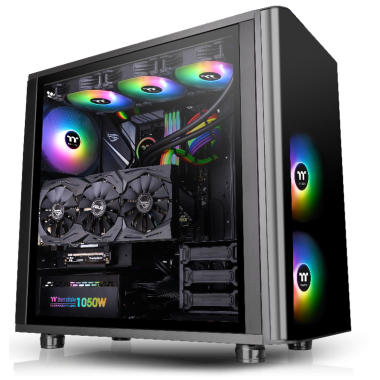 Thermaltake View 31 ARGB Dual Side Tempered Glass Edition Mid Tower Case