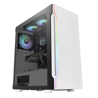 Thermaltake H200 RGB Snow Edition Tempered Glass Mid Tower Case