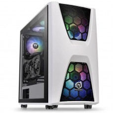 Commander C34 Snow TG ARGB ATX Mid-Tower Case