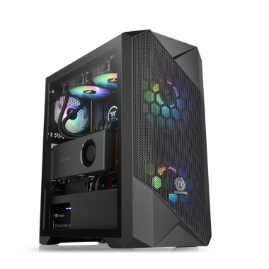 Thermaltake Commander G33 Tempered Glass ARGB Mid Tower Case