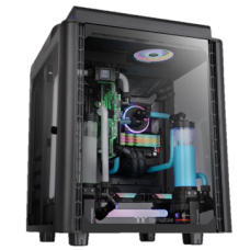 Thermaltake Level 20 HT Black Edition Tempered Glass RGB E-ATX Full Tower Case