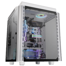 Thermaltake Level 20 HT Snow Edition Tempered Glass RGB E-ATX Full Tower Case