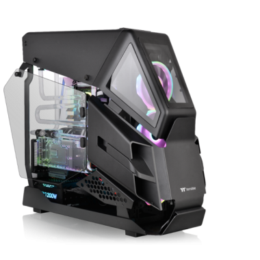 Thermaltake AH T600 Black Edition Tempered Glass E-ATX Full Tower Case