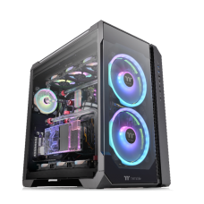 Thermaltake View 51 ARGB 3-Sided Tempered Glass E-ATX Full Tower Case Black Edition