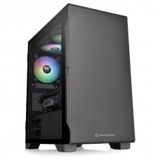Thermaltake S100 Black Edition Tempered Glass Micro ATX Case