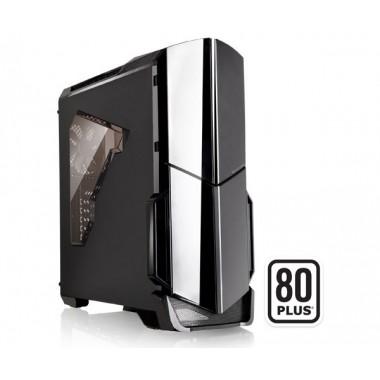 Thermaltake Versa N21 ATX Gaming Mid Tower Case with 600W 80+ PSU