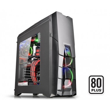 Thermaltake Versa N25 Window Mid Tower Case with 600W 80+ Power Supply