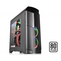 Thermaltake Versa N26 Window Mid Tower Case with 600W 80+ Power Supply