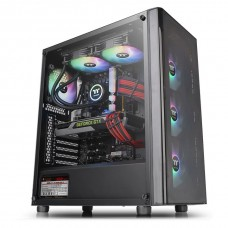 Thermaltake V200 ARGB Tempered Glass Edition Mid Tower Case with 500W PSU