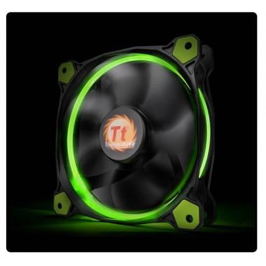 Thermaltake Riing 14 High Static Pressure 140mm Green LED Fan