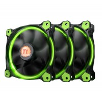 Riing 12 GREEN High Static Pressure LED Radiator Fan (3 Fans Pack)