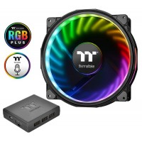 Thermaltake Riing Plus 20 TT Premium Edition 200mm LED RGB Fan with Controller