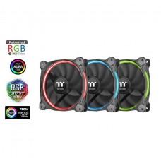 Thermaltake Riing 12 LED RGB 120mm Radiator Fan Sync Edition - 3 Fan Pack