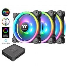 Riing Trio 12 LED RGB Radiator Fan TT Premium Edition (3-Fan Pack)