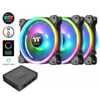 Riing Trio 14 LED RGB Radiator Fan TT Premium Edition (3-Fan Pack)