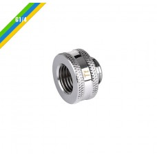 Thermaltake Pacific G1/4 Female to Male 10mm Extender - Chrome