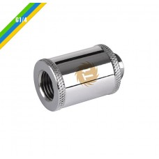 Thermaltake Pacific G1/4 Female to Male 30mm Extender - Chrome