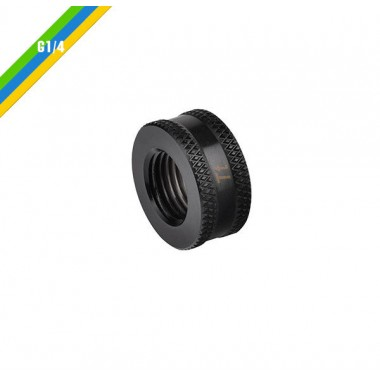 Pacific G1/4 F-F 10mm Ext Blk