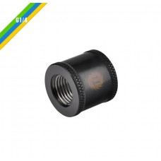 Pacific G1/4 F-F 20mm Ext Blk