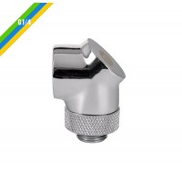 Thermaltake Pacific G1/4 90 Degree Adapter - Chrome