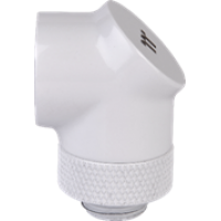 Thermaltake Pacific G1/4 90 Degree Adapter - White (2-Pack Fittings)