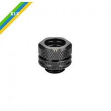 Thermaltake Pacific G1/4 PETG Tube 12mm OD Compression - Black