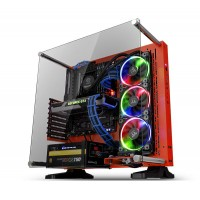 Thermaltake Core P3 Tempered Glass Red Edition ATX Open Frame Case