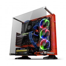 Thermaltake Core P3 Red Edition Tempered Glass Mid Tower Open Frame Case