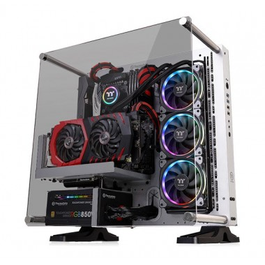 Thermaltake Core P3 Tempered Glass Snow Edition ATX Open Frame Case