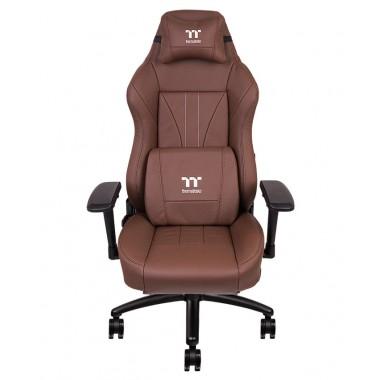 TT PREMIUM X Comfort Real Leather Brown Gaming Chair