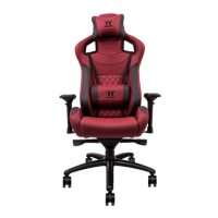 X-Fit Real Leather Burgundy Red Gaming Chair