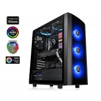 Thermaltake Versa J25 Tempered Glass RGB Edition Mid Tower Case