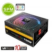 Thermaltake Toughpower DPS G RGB 750w 80+ Gold Riing 14cm 256 Colors RGB Fan Fully Modular Digital Power Supply 10-Year Warranty