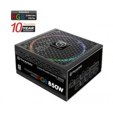 Thermaltake Toughpower Grand RGB 850w 80+ Platinum Riing 14cm 256 Colors RGB Fan Fully Modular Power Supply 10-Year Warranty